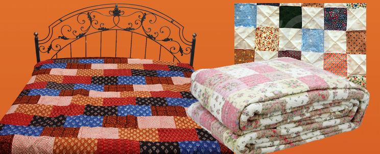 cubrecamas patchwork