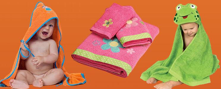 modelos de toallones infantiles