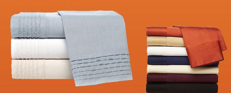 sábanas cien por ciento algodón