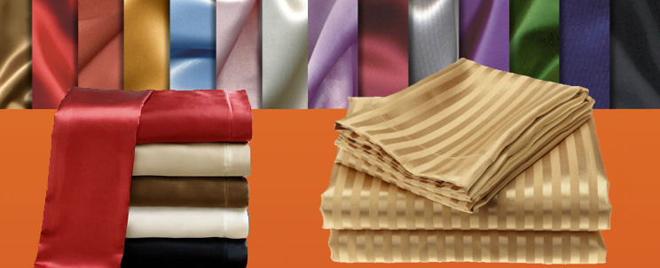 sábanas de raso