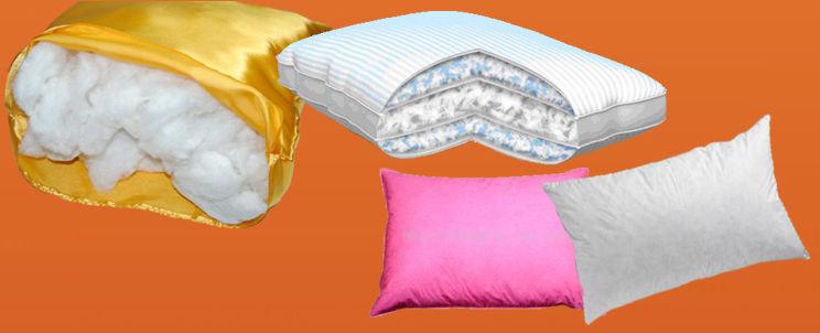 rellenos para almohadas