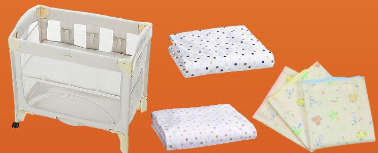 sábanas para mini cuna