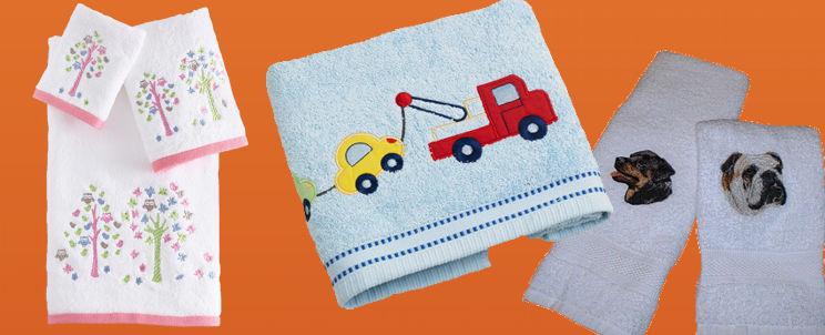 toallas estampadas