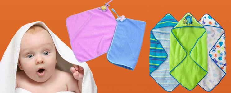 C mo deben ser las toallas para beb s casa blanqueria - Cuales son las mejores toallas ...
