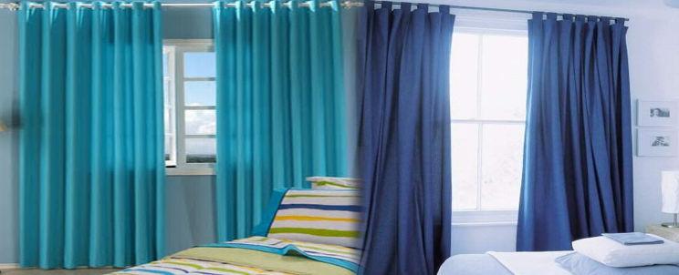 cómo disimular ventanas desproporcionadas con cortinas