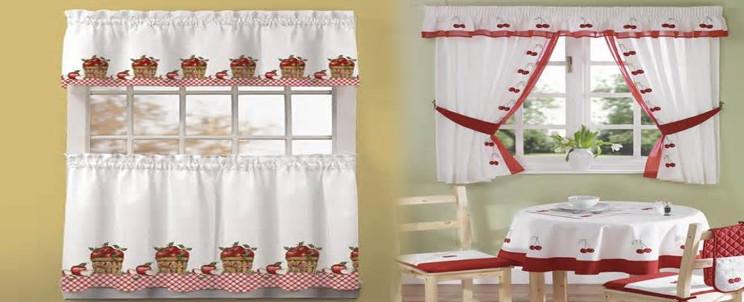 Lo ultimo de cortinas para cocina imagui for Telas para cortinas de cocina modernas