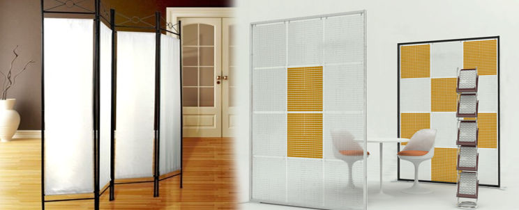 Paneles para separar ambientes casa blanqueria - Cortinas para separar ambientes ...