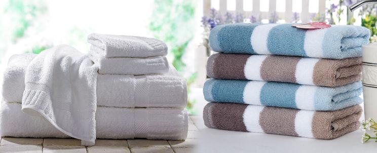 cómo blanquear una toalla