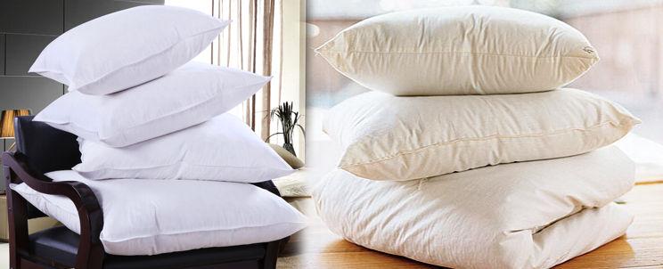 cómo conservar las almohadas de plumas mullidas