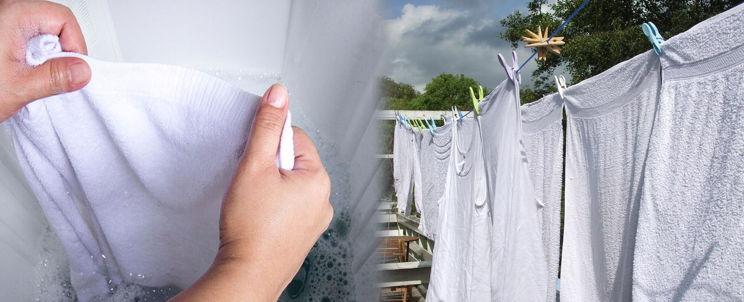 lavar toallas por primera vez