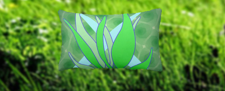 almohadas de hierbas