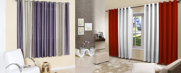 cuál es el modo correcto de colgar cortinas