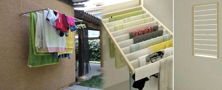 cómo aprovechar los tendederos de ropa