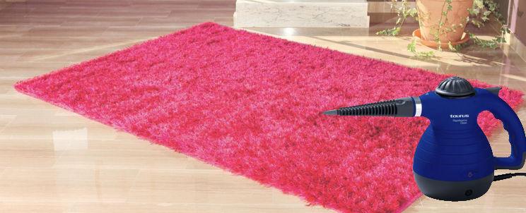 cómo limpiar alfombras con vapor