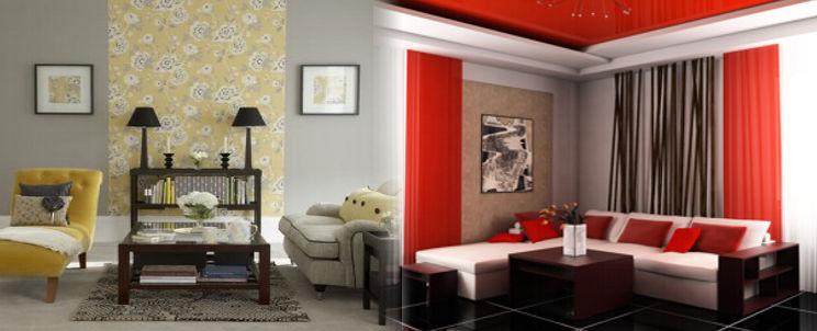 decorar salas con telas