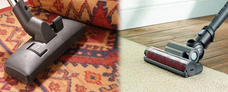 cómo aspirar alfombras