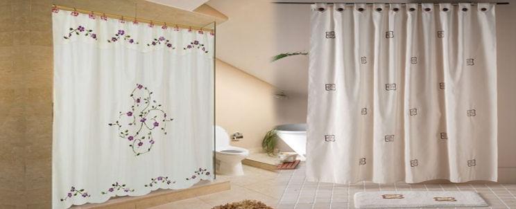 Cortinas De Baño De Tela:baño cortinas lavar limpiar
