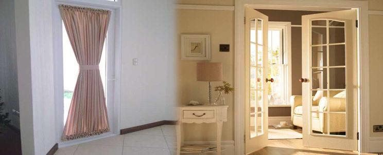 cuáles son las mejores cortinas para una puerta francesa