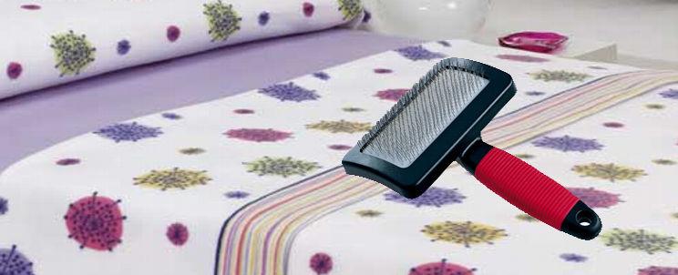 eliminar pelusas de las sábanas
