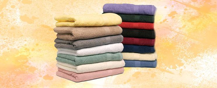 cómo evitar que las toallas nuevas destiñan
