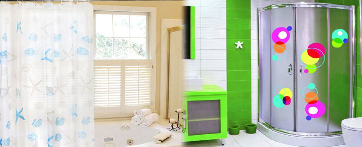 cortinas ecológicas para ducha