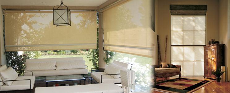 cortinas para mantener a los rayos UV fuera de casa