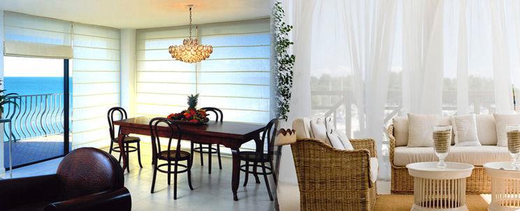cortinas para una decoración de playa