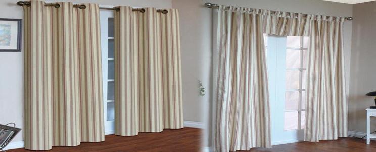 Cortinas finas cortina bao elegante diseos de cortinas de for Cortinas ojales baratas