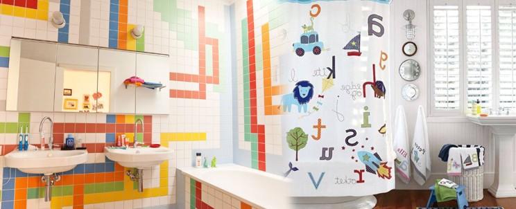 decorar el baño para chicos