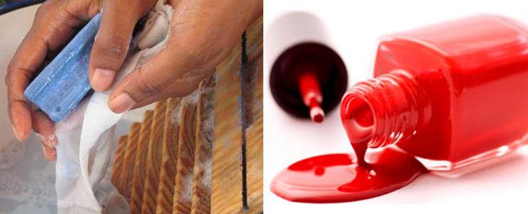 limpiar manchas de esmalte