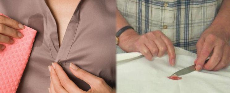 eliminar manchas de cera depilatoria