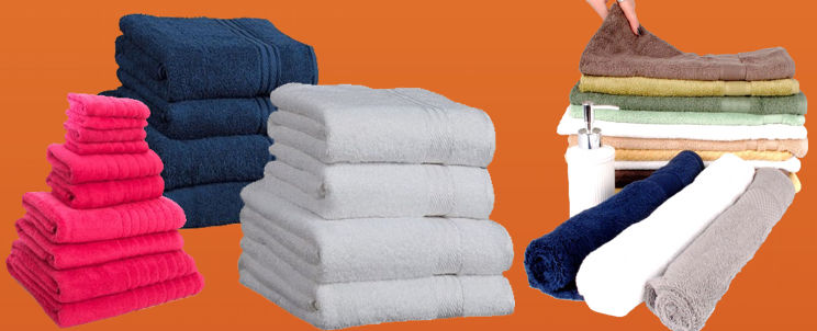elegir toallas de algodón egipcio