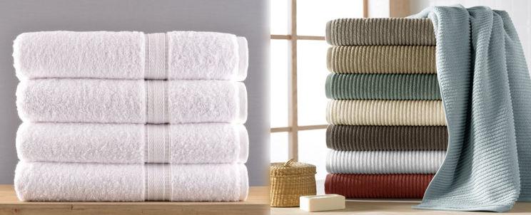 toallas de algodón turco o toallas de algodón