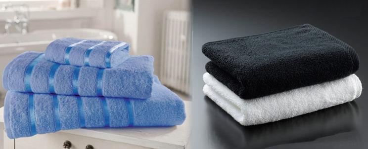 toallas de microalgodón o de algodón egipcio