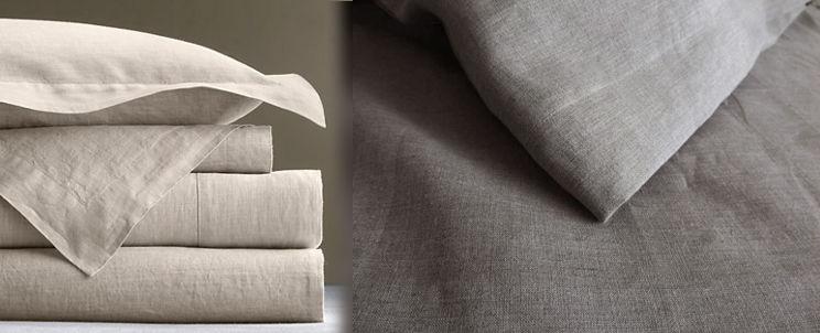 cómo elegir sábanas de lino