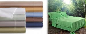 sábanas de algodón pima o de bambú